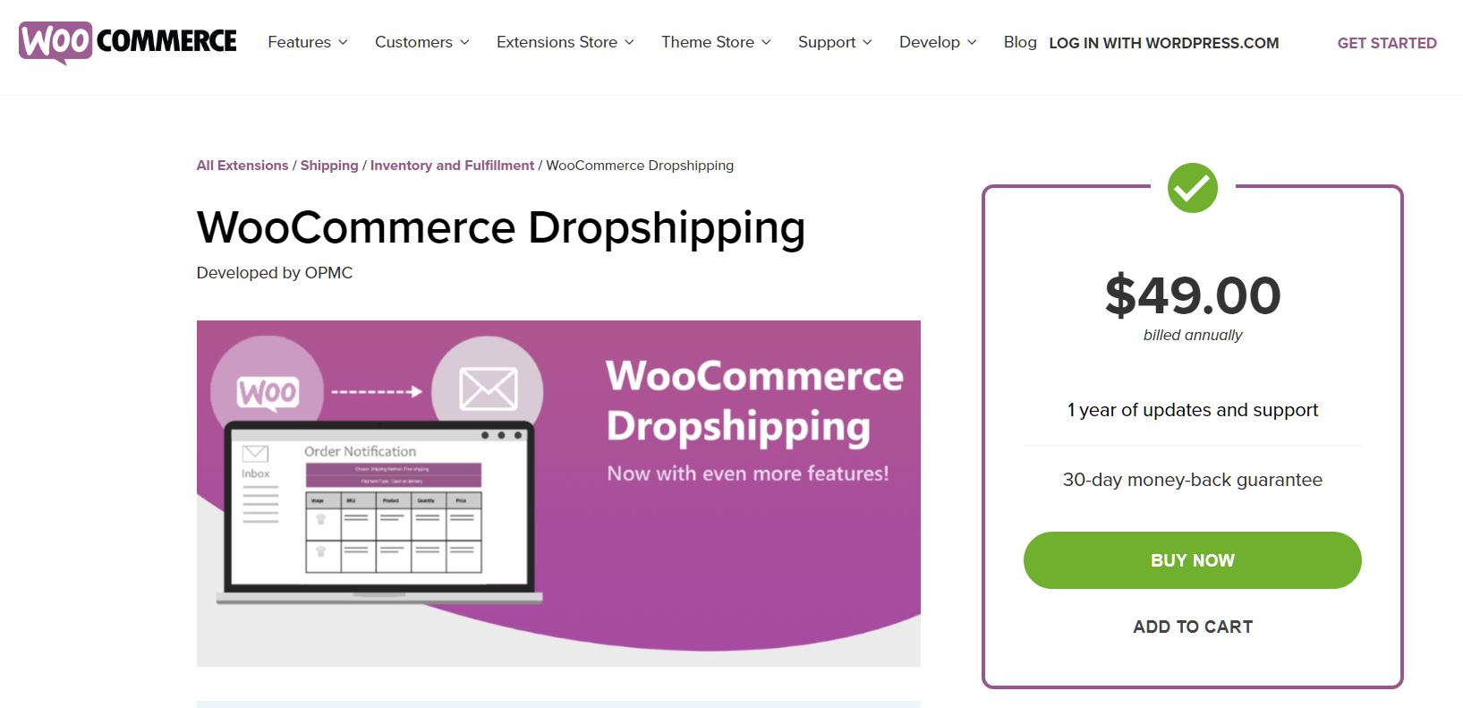 dropshipping with woocommerce