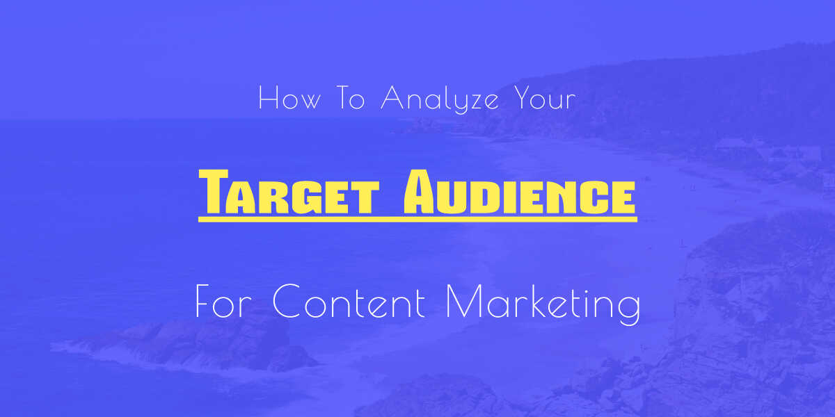 analyze content marketing audience