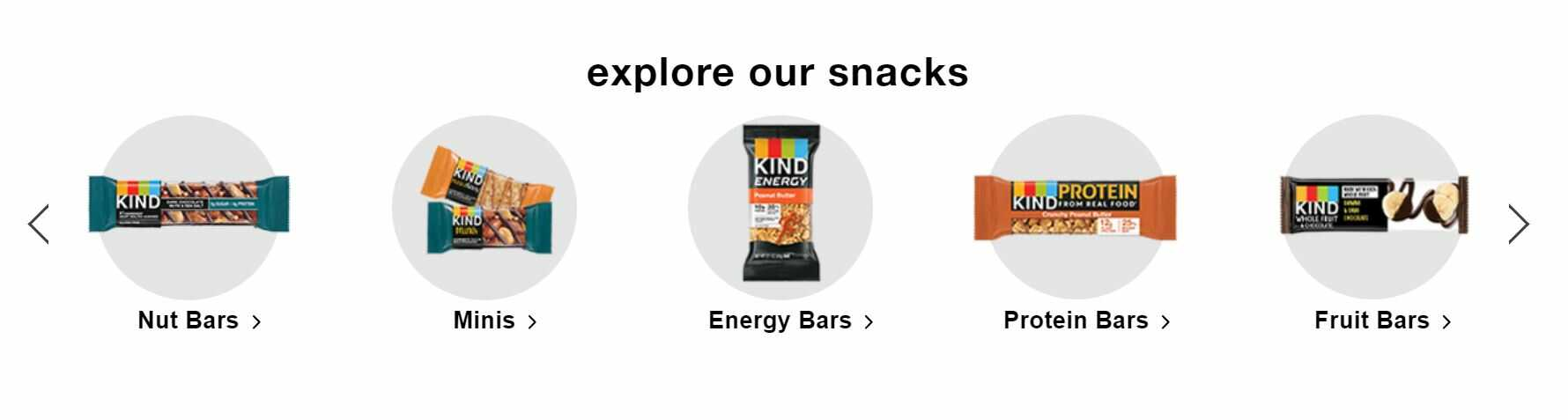 kindsnacks example to write website homepage copy