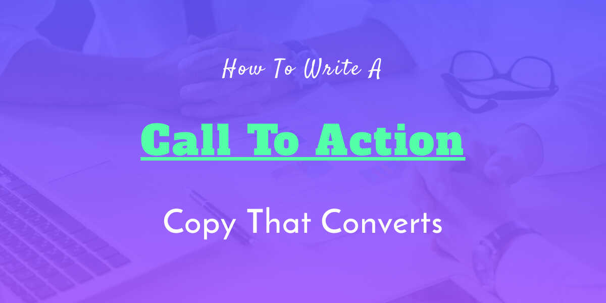 call to action copy content