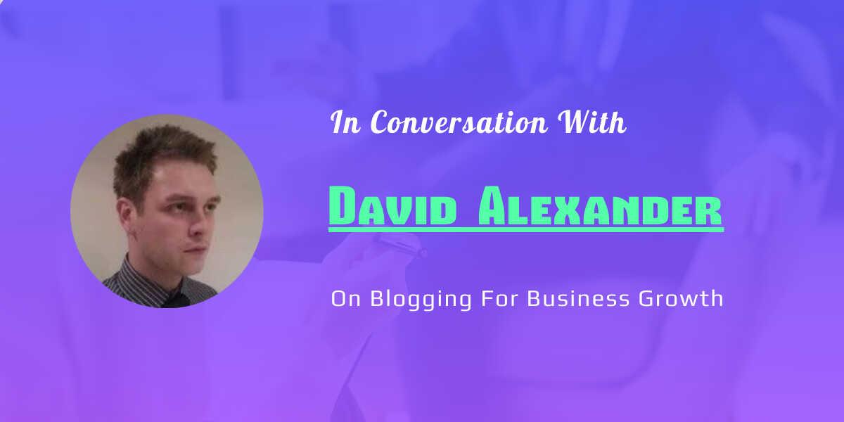 david alexander blogging