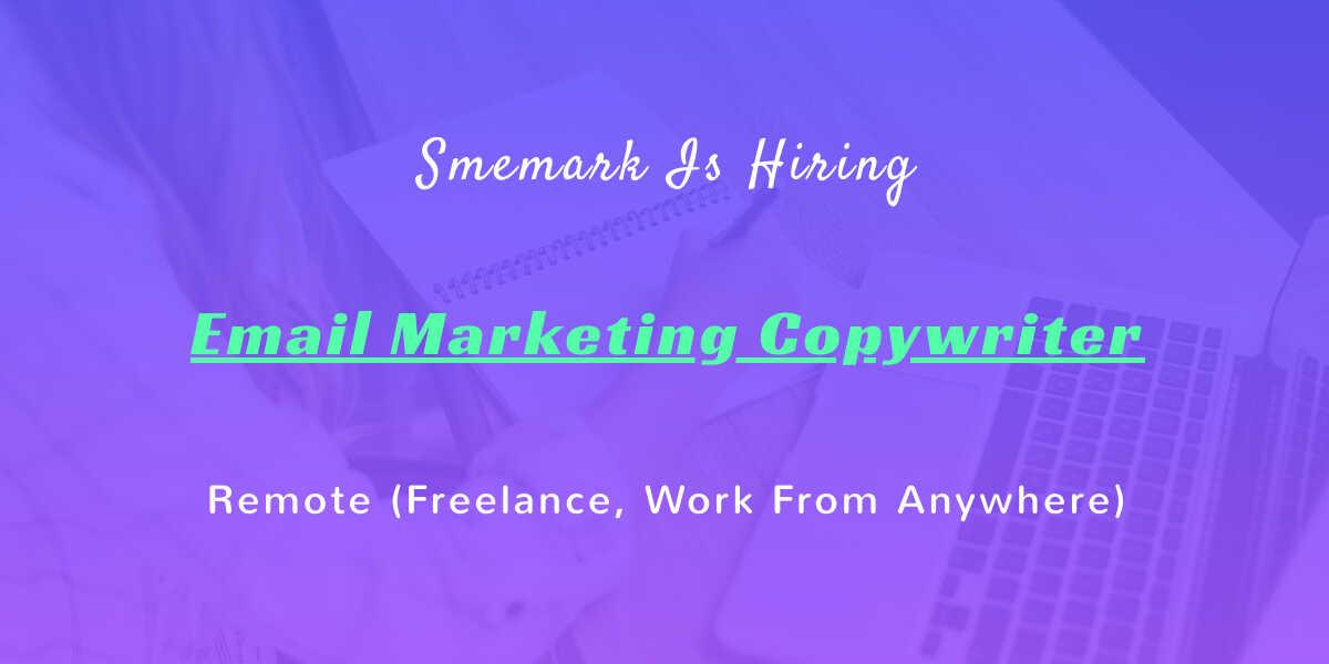 email marketing copywriter -