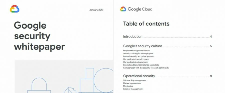 Google white paper example
