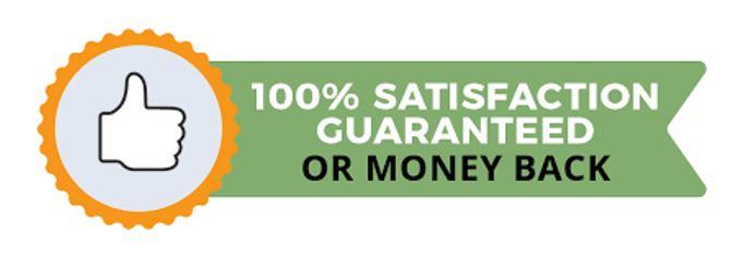 money guarantee badge seal