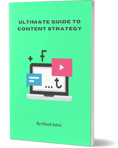 book cover content strategy