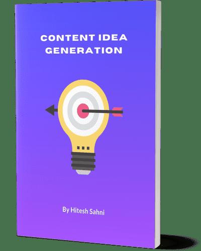 content idea book cover