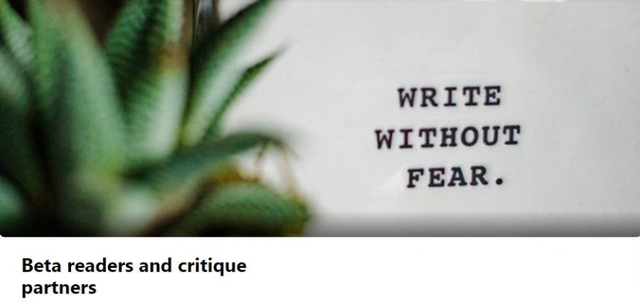 Beta readers and critique partners