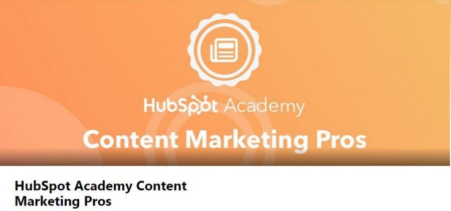 Hubspot Academy Content Marketing Pros online writing community