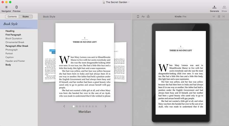Formatting using Vellum - writing an ebook